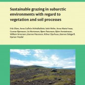 Sustainable grazing in subarctic environments with regard to vegetation and soil proce